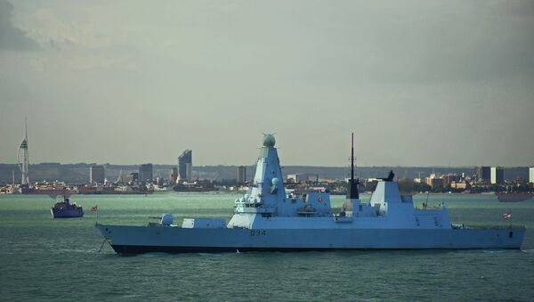 HMS Diamond - Sputnik France
