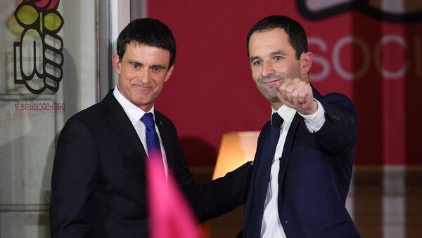 Valls et Hamon - Sputnik France