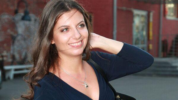 Šéfredaktorka mezinárodní informační agentury (MIA) Rossia Segodnia Margarita Simoňanová - Sputnik France