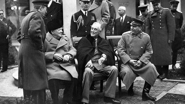 Conférence de Yalta - Sputnik France