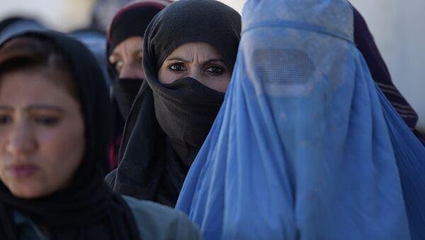Jeune Afghane: «la guerre m'a pris la vue» - Sputnik France