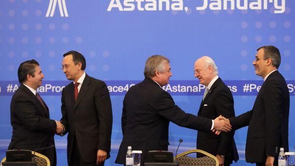 les rencontres d'Astana - Sputnik France