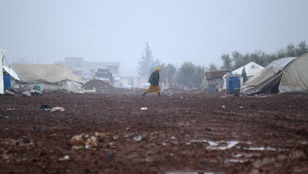 Un camp de réfugiés en Syrie - Sputnik France