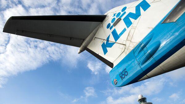 Un avion de ligne de la compagnie néerlandaise KLM - Sputnik France
