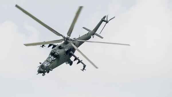 Un Mi-24, image d'illustration - Sputnik France