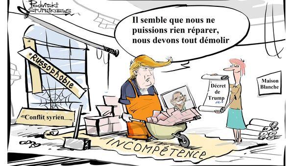Immigration: Trump limoge la ministre de la Justice par intérim - Sputnik France
