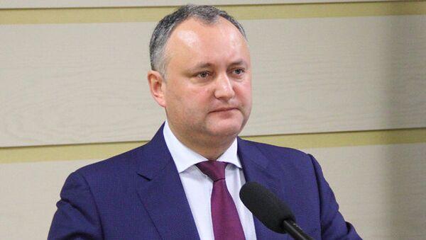 Le président moldave Igor Dodon - Sputnik France