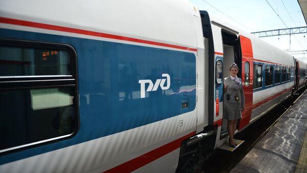 Le train à grande vitesse Strizh - Sputnik France