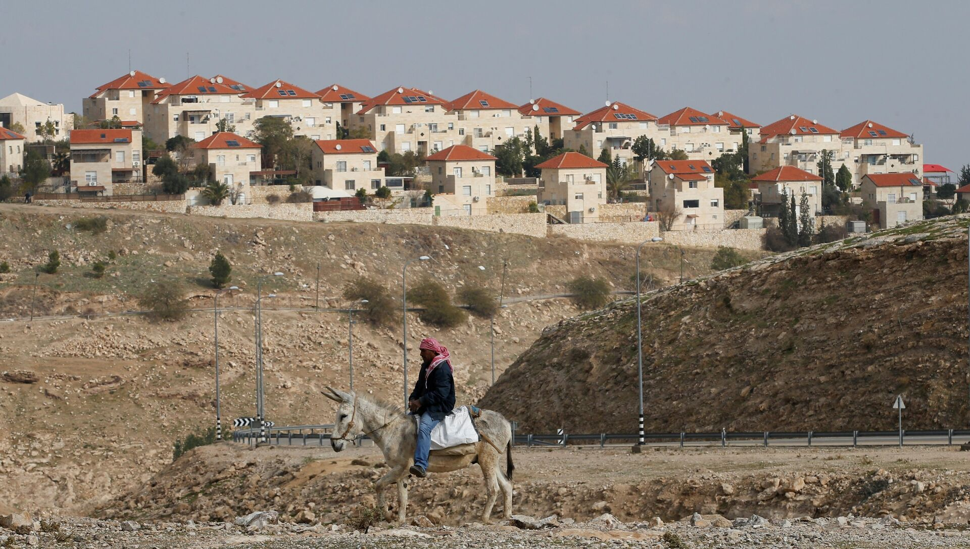 La colonie israélienne de Maale Edumim, située en Cisjordanie - Sputnik France, 1920, 12.08.2021