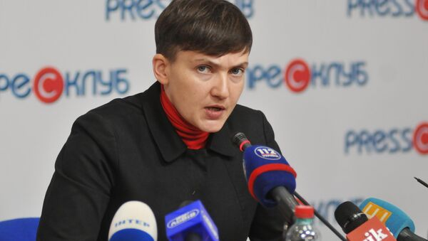 Nadejda Savtchenko - Sputnik France