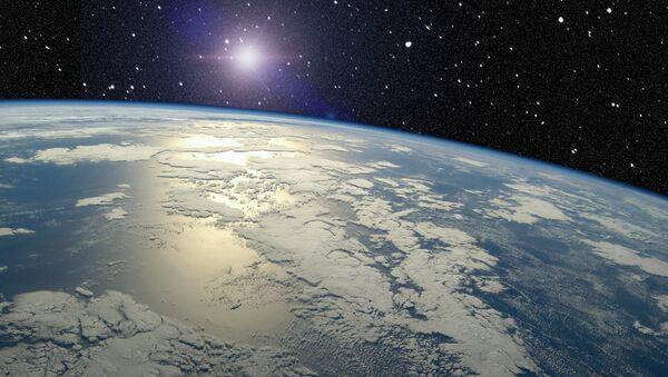 Terre vue de l'espace - Sputnik France