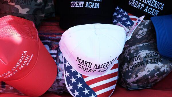 slogan de la campagne de Donald Trump « Rendre à l'Amérique sa grandeur » - Sputnik France