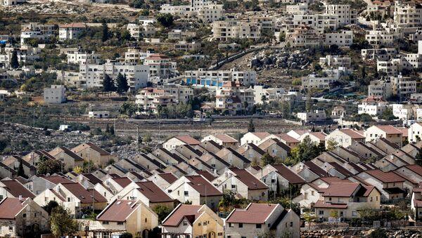 Une colonie israélienne en Cisjordanie - Sputnik France