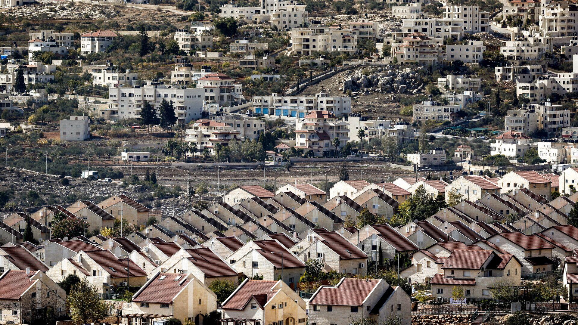 Une colonie israélienne en Cisjordanie (image d'ullustration) - Sputnik France, 1920, 19.09.2021