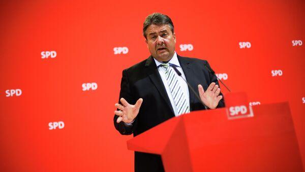 Vizekanzler und Wirtschaftsminister Sigmar Gabriel (SPD) - Sputnik France
