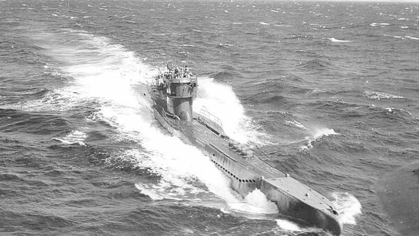 Un sous-marin nazi - Sputnik France