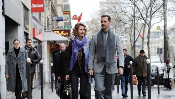Bashar et Asma al-Assad. Archive photo - Sputnik France