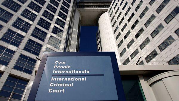 The entrance of the International Criminal Court (ICC) is seen in The Hague, Netherlands - Sputnik France