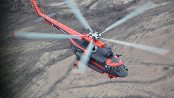 Un hélicoptère MI-8AMTSH-VA - Sputnik France