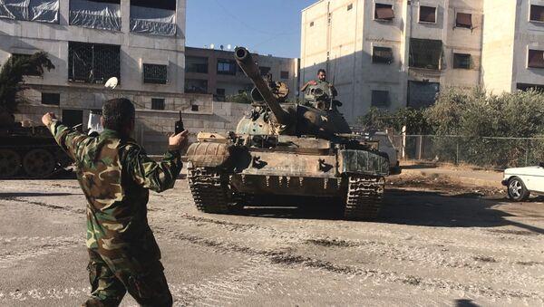 Syrian army's assault on southwest Aleppo - Sputnik France