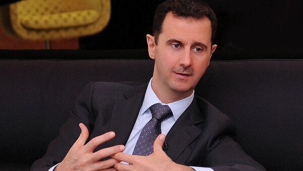 Syriens Präsident Baschar al-Assad - Sputnik France