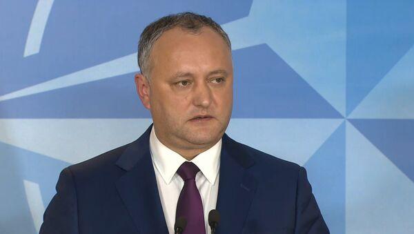 Igor Dodon - Sputnik France