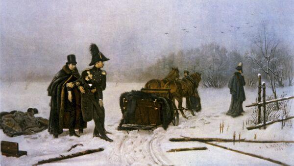 Duel opposant Alexandre Pouchkine et Georges d'Anthès - Sputnik France