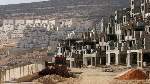 Un chantier dans une colonie juive en Cisjordanie - Sputnik France