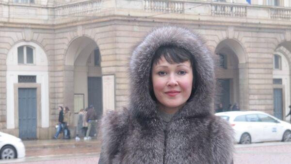 Anna Tuv a Milano - Sputnik France