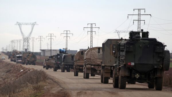 Des véhicules turcs - Sputnik France