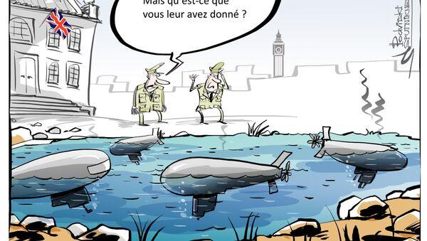 sous-marins britannique - Sputnik France