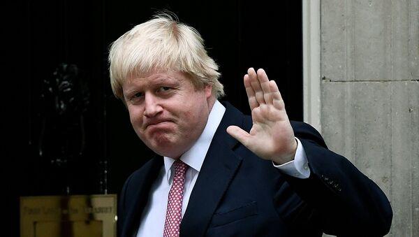 Britain's Foreign Secretary Boris Johnson arrives at Number 10 Downing Street in London, Britain October 24, 2016. - Sputnik France