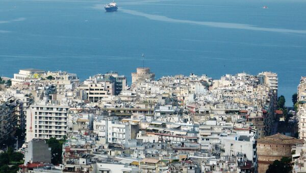 A view of the city of Thessaloniki in Greece - Sputnik France
