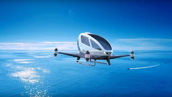 voiture volante EHang - Sputnik France