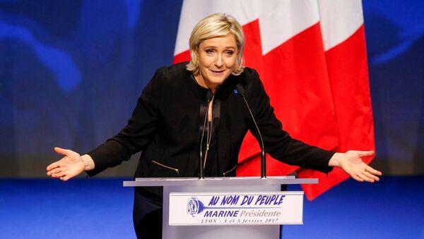 Marine Le Pen - Sputnik France