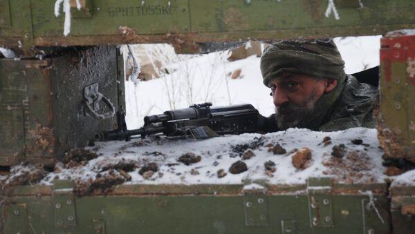 Volkswehr von Donezk - Sputnik France
