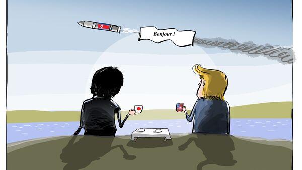 Tir de missile: Pyongyang aurait voulu tester la réaction des USA - Sputnik France