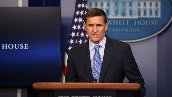 National security adviser General  delivers a statement daily briefing at the White House in Washington U.S., February 1, 2017 - Sputnik France