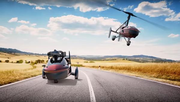 La voiture volante PAL-V Liberty - Sputnik France