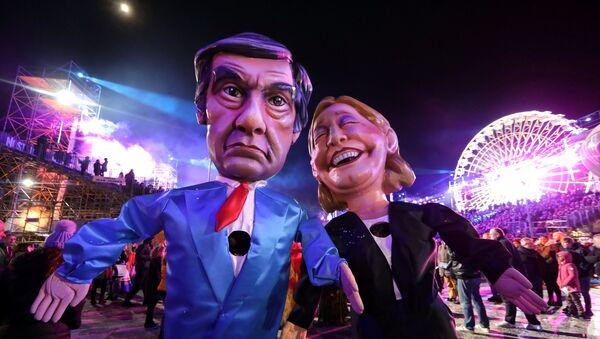 Francois Fillon/ Marine Le Pen - Sputnik France