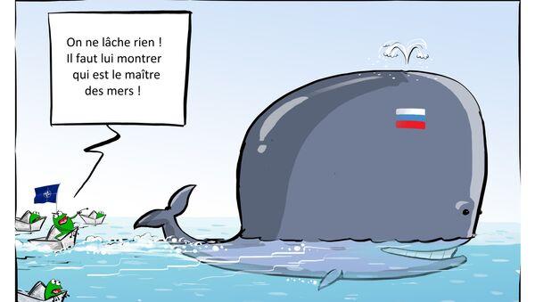 Près de 60 navires de l'Otan surveillaient l'Amiral Kouznetsov en Syrie - Sputnik France