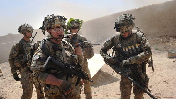Des militaires US en Afghanistan - Sputnik France