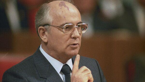Mikhaïl Gorbatchev (photo d'archives) - Sputnik France