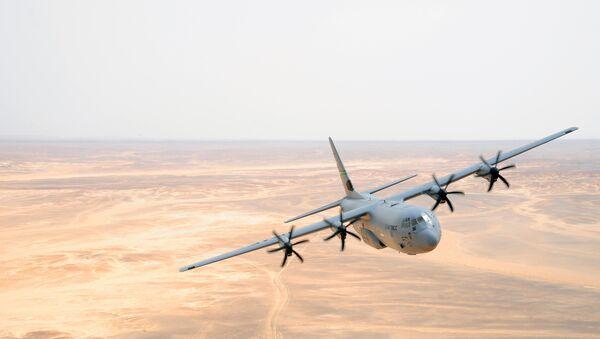 C-130J Hercules der US-Lufstreitkräfte - Sputnik France