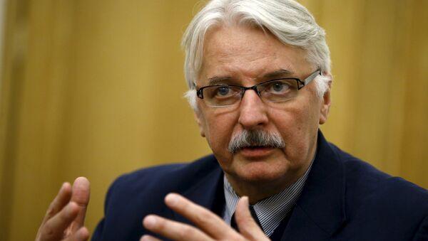 Witold Waszczykowski, le ministre polonais des Affaires étrangères - Sputnik France