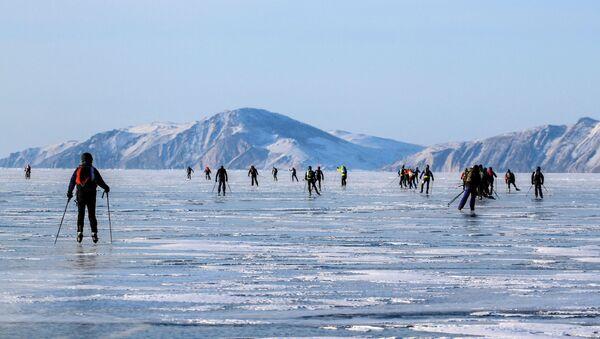 Байкальская экстремальная гонка Ледовый шторм - Sputnik France