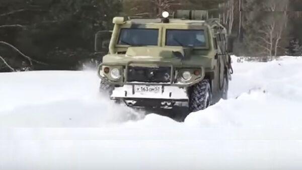 véhicule blindé autonome Tigre - Sputnik France
