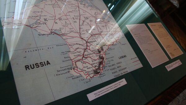 La carte de la péninsule de Crimée - Sputnik France
