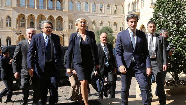 Marine Le Pen in Beirut - Sputnik France