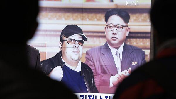 Kim Jong-un, et son demi-frèreKim Jong-nam - Sputnik France